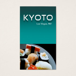 Restaurant Catering Eateries Cuisine Casino Business Card