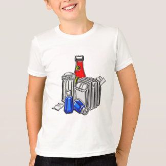 Restaurant Condiments Art T-Shirt