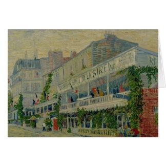 Restaurant de la Sirene at Asnieres, 1887 Greeting Card