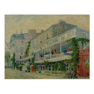 Restaurant de la Sirene at Asnieres, 1887 Postcard