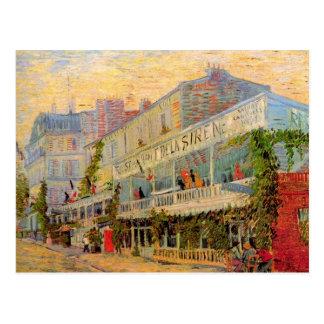 Restaurant de la Sirene at Asnieres by van Gogh Postcard