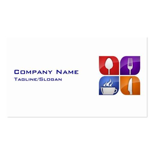 Restaurant-Food Service Business Card : Zazzle