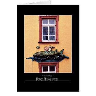 Restaurant Front Heidelberg, Germany Card