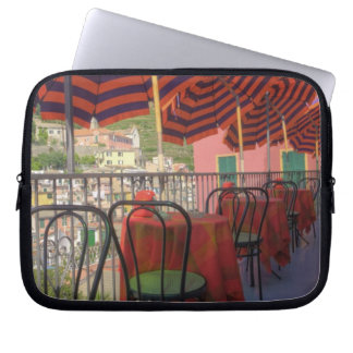 Restaurant in hillside town of Vernazza, Cinque Laptop Sleeve