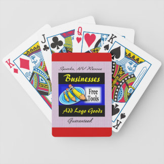 Restaurant Logo Playing Cards