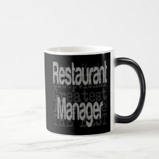 Restaurant Manager Extraordinaire 11 Oz Magic Heat Color-Changing Coffee Mug