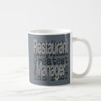 Restaurant Manager Extraordinaire Coffee Mug