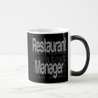 Restaurant Manager Extraordinaire Magic Mug