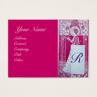 RESTAURANT MONOGRAM BUSINESS CARD