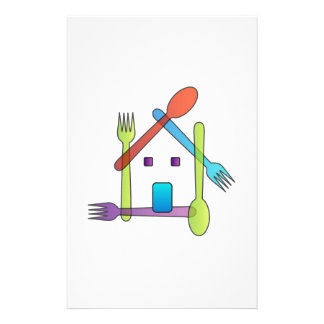 restaurant or a cafe stationery