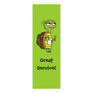 Restaurant Server Tip Card Business Card