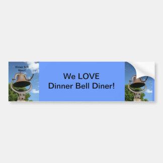 Restaurant supplies Bumper sticker Dinner Bell