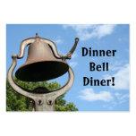 Restaurant Supplies Business Cards Dinner Bell