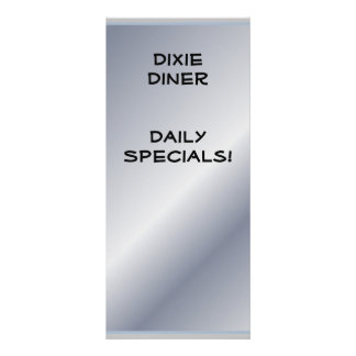 Restaurant Supplies Daily Specials (Customize) Rack Card
