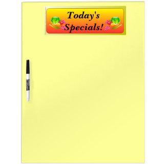 Restaurant Supplies Daily Specials Dry Erase Board