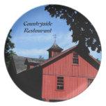 Restaurant Supplies, Decorative Plate, Countryside