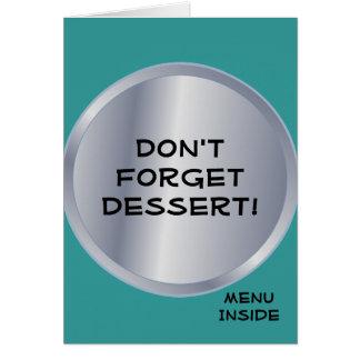 Restaurant Supplies Diner Designs Card