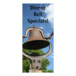 Restaurant Supplies Dinner bell daily specials Custom Rack Cards