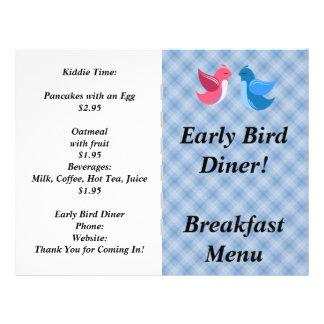 Restaurant Supplies  Early Bird Flyer