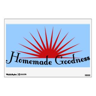 Restaurant Supplies  Homemade Goodness Wall Decal