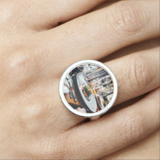 Restaurant Themed, Restaurant Table Filled Wiith G Photo Rings
