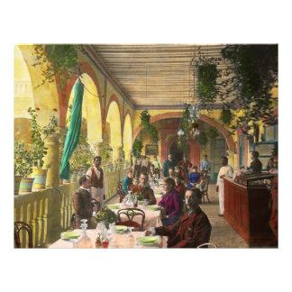 Restaurant - Waiting for service - 1890 Custom Flyer