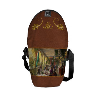 Restaurant - Waiting for service - 1890 Courier Bag
