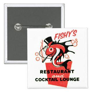 Restaurante a pescado de los cócteles del kitsch r pin