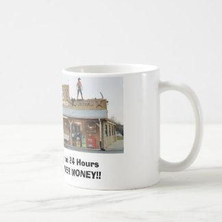 Restaurante de Coney Island de los criados Tazas De Café