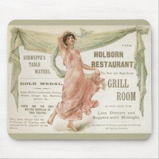 Restaurante de Holborn Alfombrillas De Ratón