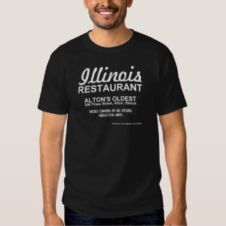 Restaurante de Illinois, Alton, IL Playeras
