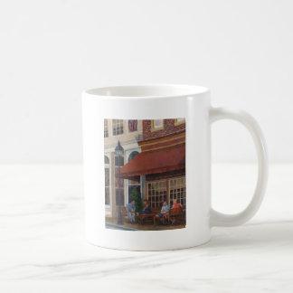Restaurante de la esquina taza de café