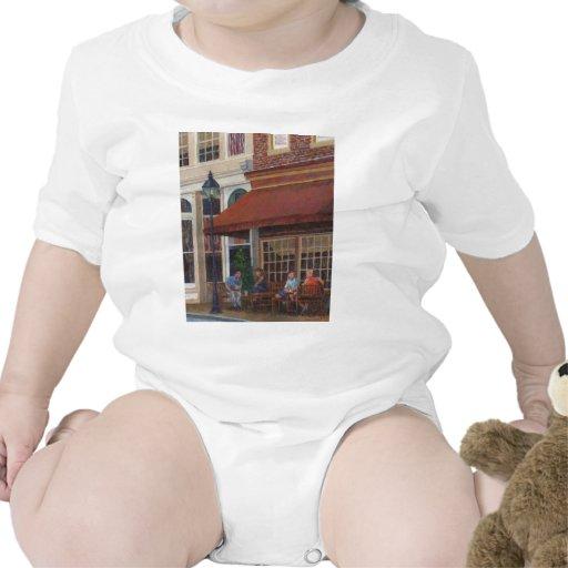 Restaurante de la esquina trajes de bebé