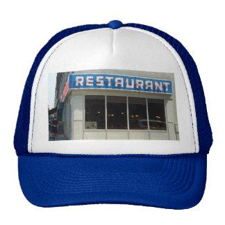 Restaurante de Manhattan NYC Gorros Bordados