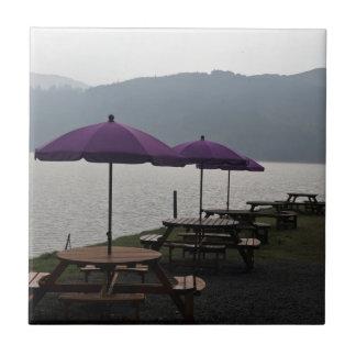Restaurante del aire abierto en Escocia Teja Cerámica