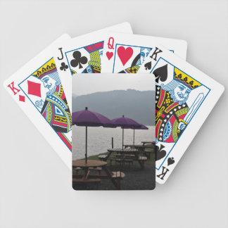 Restaurante del aire abierto en Escocia Baraja Cartas De Poker