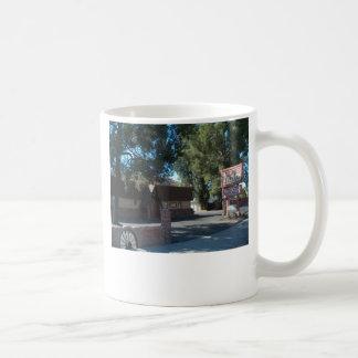 Restaurante del mesón de la selva virgen taza de café