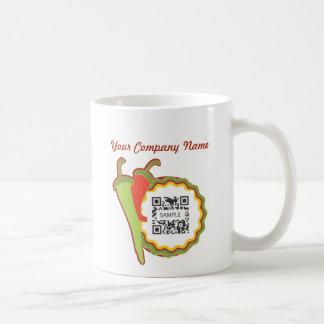 Restaurante del mexicano de la plantilla de la taz taza básica blanca