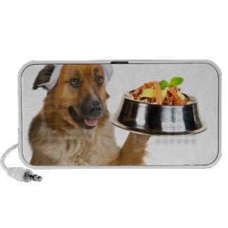 Restaurante del perro altavoces de viajar