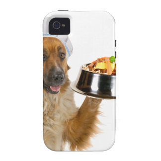 Restaurante del perro iPhone 4/4S carcasas