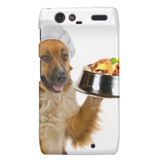 Restaurante del perro motorola droid RAZR fundas