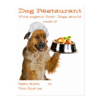 Restaurante del perro postales