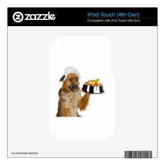 Restaurante del perro skins para iPod touch 4G