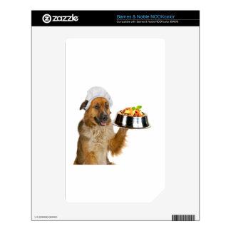 Restaurante del perro skins para elNOOK color