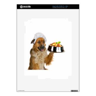 Restaurante del perro iPad 2 calcomanía