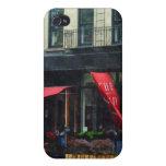 Restaurante en Chelsea iPhone 4/4S Carcasas