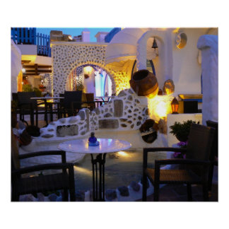 Restaurante Grecia Poster