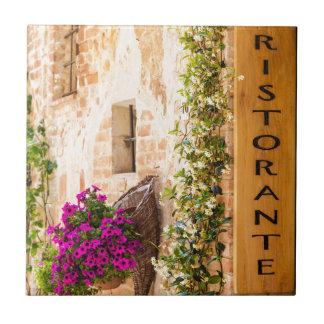 Restaurante italiano azulejos
