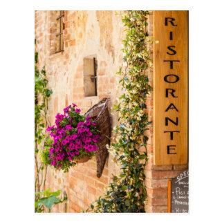 Restaurante italiano postal