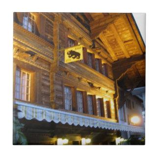 Restaurante, Unterseen, Interlaken Tejas Cerámicas